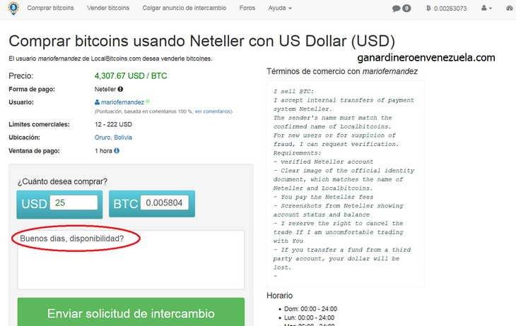 Como ganar dinero con bitcoins en venezuela o en cualquier pais 26